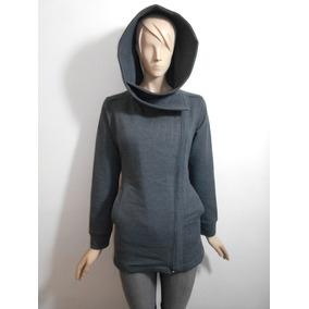 Sudadera Larga De Felpa Abrigo Para Dama De Moda Calientita