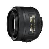 Nikon Lente Af-s Dx Nikkor 35mm F/1.8g Mas Filtro 52mm