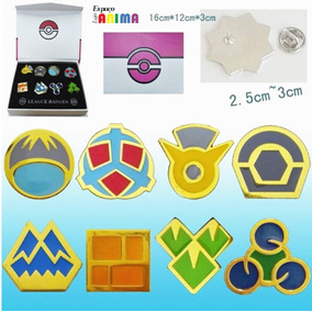 Box Insignias Sinnoh Pokémon Broche Original