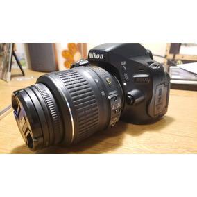 Câmera Nikon D5100 + Lente 18-55mm + Carregador + 2 Baterias