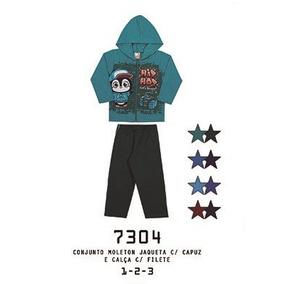 Conjunto Inverno Alemara Jaqueta Com Capuz Hip Hop Cód  774 dcb4757daa20e