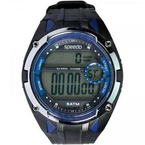 8a4177d48cb Relógio Digital Speedo 81148g0 - Masculino - Cor Preto azul por Centauro