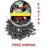 4 Latas Diabolo Gamo Magnum 5.5 Caza Co2 Pcp Free Shiping