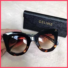 dded92dd803c1 Óculos De Sol Celine Marta Acompanha Todos Acessórios  2887