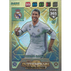 Card Fifa 365 2018 Top Master Sergio Ramos Num 7 Adrenalyn