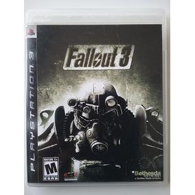 Jogo Fallout 3 Ps3 Mídia Física Original Perfeito Estado