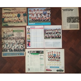 Lote Láminas Posters Clipping Banfiled 60465df07355b