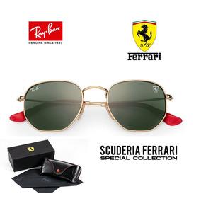 Ray Ban Hexagonal 3548 Ferrari Envio 24h Original + Brinde · 3 cores. R  349 b5202b0f71