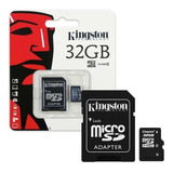 Memoria Micro Sdhc Kingston 32gb Clase 4 Celular