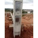 Poste Padrao - 2 Relogios - Cpfl / Elektro / Cerim