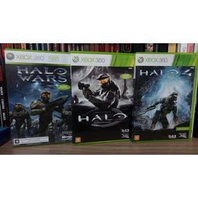 Jogos Halo Xbox 360 Originais Lote