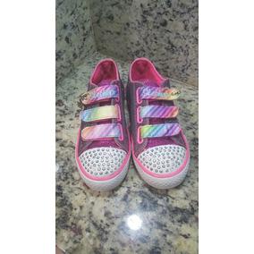 Zapatos Niñas Skechers Usados Accesorios Y Usado Ropa En 5r57Fnw