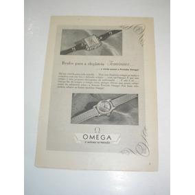 43d9ba7f8c1 L 290 ) Propaganda Antiga Relógios Omega - Coleções e Comics no ...