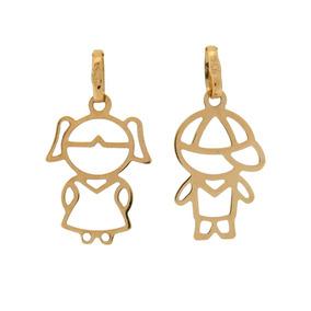 84aca7f98a Pingente Menino Ouro 18k - Pingentes de Ouro no Mercado Livre Brasil