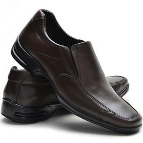 88012b4b92 Sapato Social Masculino Confort - Sapatos Marrom no Mercado Livre Brasil