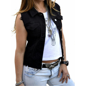 Chalecos Jeans Mujer - Ropa y Accesorios en Mercado Libre Perú e559b6466828