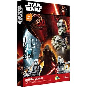 Star Wars Quebra Cabeca 100 Pecas Toyster
