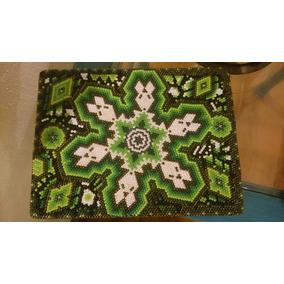 Cajas Artesanía Mexicana Huichol Grande