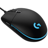 Mouse Gamer Logitech Óptico G203 Prodigy 8000dpi Negro Rgb