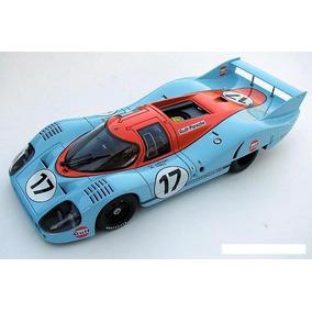 Miniatura Porsche 917 Gulf Long Tail Autoart Millennium 1/18