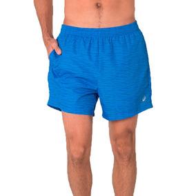 Short Asics Fuzex 5   Masculino Azul M 6d9b1887a5f6a