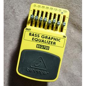 Behringer Beq700 Bass Graphic Equalizer - Willaudio