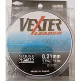 Linha Pesca Vexter Leader Lider Fluorcarbon 0,31m 50m 12,5lb