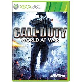 Call Of Duty World At War Xbox 360 Xone Original Frete R$12