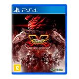 Street Fighter V Arcade Edition Ps4 Mídia Física Lacrado
