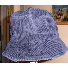 83a53cc57a255 Sombrero - Gorro De Corderoy Color Azul Origen E. E. U. U.