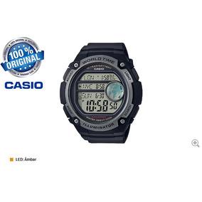 f6292b66873 Relógio Casio Ae-3000w-1av Hora Simultânea Tres Cidades