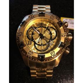 fd637e21103 Invicta Excursion 24263 Ouro 18k - Relógios no Mercado Livre Brasil