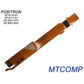 Cabo Flat Original Dvd Positron Sp 6111 Av / Sp6111av/ 6111