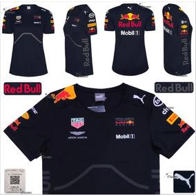 Playera Dama Red Bull F1 Verstappen Ricciardo Blusa 2018