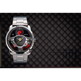 Relógio De Pulso Personalizado Painel Ferrari Gtb 488 Top