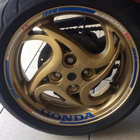 Friso Adesivo Interno M2 Roda Refletivo Moto Honda Cb 1000 R