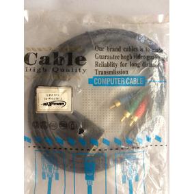 Cable Convertidor Dvi A Rca / Av Video Componente 1.8mts