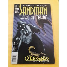 Revista Em Quadrinhos Sandman Teatro Do Mistério - N°02