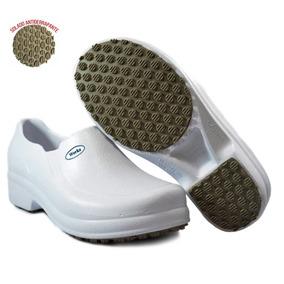 Sapato Branco Hospitalar Masculino - Calçados, Roupas e Bolsas no ... 23bffae294