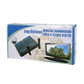 Remoto Fm Transmisor Inalámbrico 2.4 Ghz Video Sender 3w