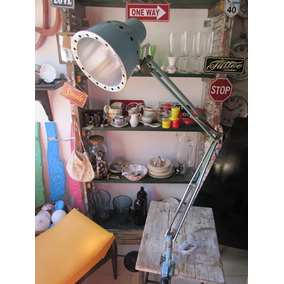 Antigua Lampara Tablero Extensible Estilo Industrial Sesimax