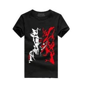 Franela Negra Naruto Kiuby Zorro De 9 Colas 09c7014f97f