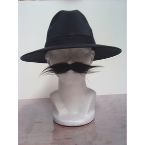 47beee1ee588a Sombrero Unitalla Gabardina Negro Unisex Indiana Envío Grati