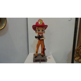 Coleção Boneca Betty Boop Salvat Bombeira Número 32 Rara!!