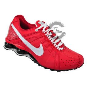 9e8f0ac77bc Tenis Nike Shox Junior Vermelho - Tênis para Masculino no Mercado ...