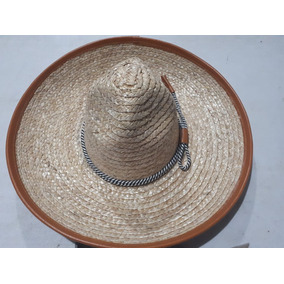 Sombrero Charro Trigo Fino Escaramuza Caporal Toquilla Mex