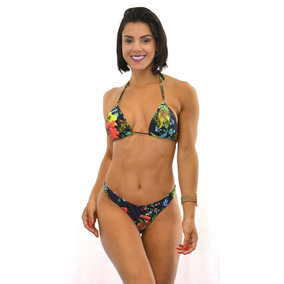Biquini Fio Dental Vermelho - Biquinis Femininas Preto no Mercado Livre  Brasil 3ea9af9d268