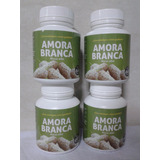 Kit 4 Frascos Amora Branca 240 Capsulas