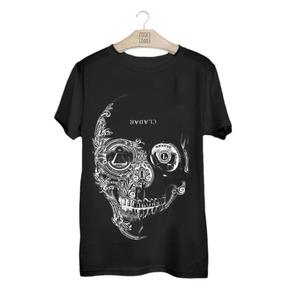 Camiseta Caveira Cladar