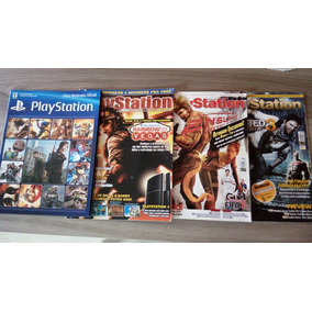 Album Livro Figurinhas Revista Playstation Start Uncharted